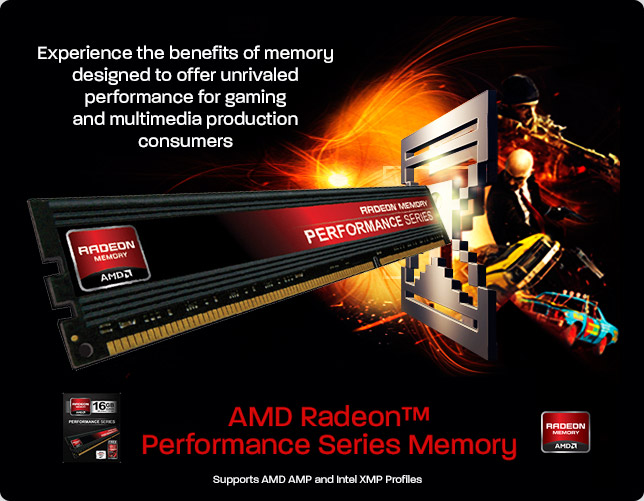 AMD Radeon Performance Series Memory